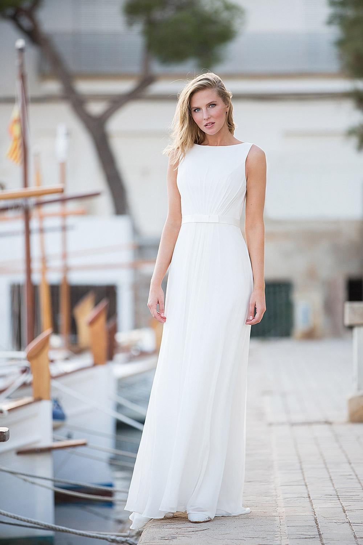 Standesamtkleid A7139 - Fashion Queen GmbH